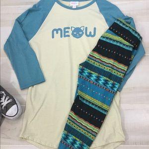 😻😻 MEOW 😻 LuLaRoe Outfit 🙀🙀